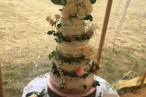 Marquee Wedding Cake