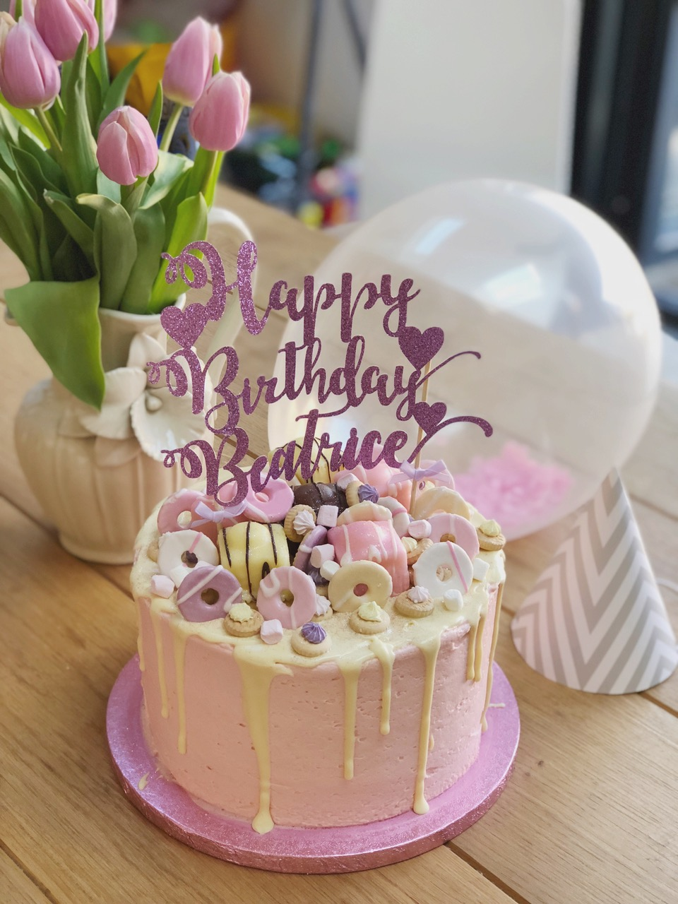 Beatrice Birthday Cake
