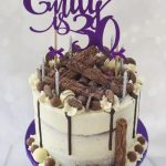 Emily's 30th Birthday Cake